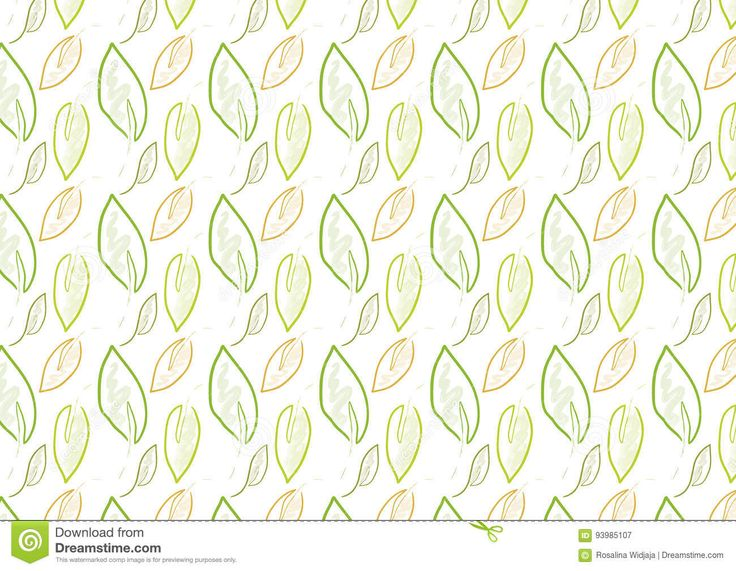 seamless leaf background pattern in green color theme. suitable for textile, bag, card