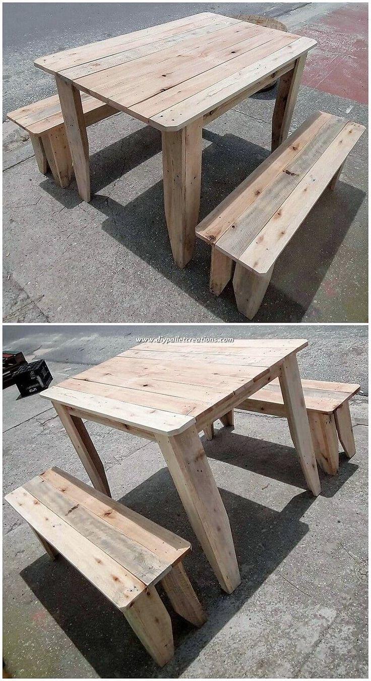 Schöne Dinge, die man aus Holzpaletten machen kann