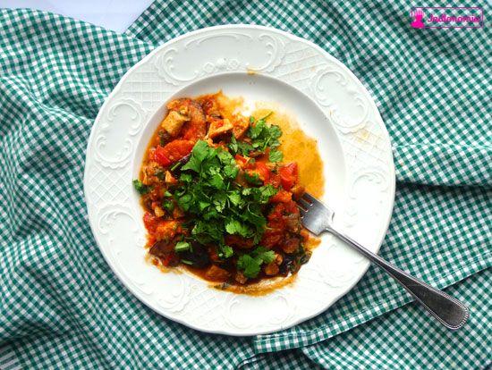 jadłonomia • roślinne przepisy: Awaria aparatu i ulubione curry z bakłażanów na pocieszenie.