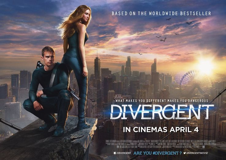 Divergent Movie Review.  #dystopian  #movies #films