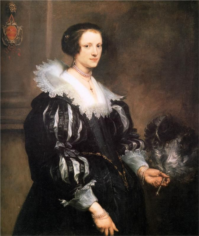 Anthony van Dyck, Portrait of Anna Wake, c. 1620s - 1640s