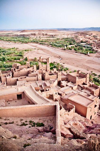 Aït-Ben-Haddou, Morocco ~ UNESCO World Heritage Site