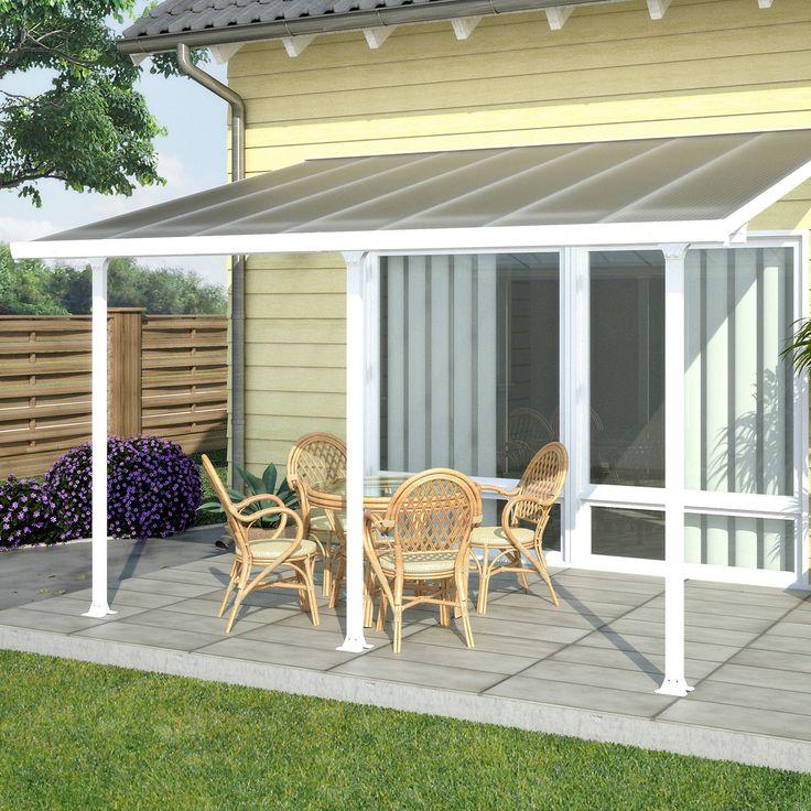 Rion Sunroom Kit 8 x 10 Clear Acrylic Panels Sunroom