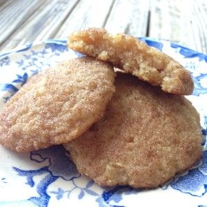 He won't know it's paleo. AIP snickerdoodles