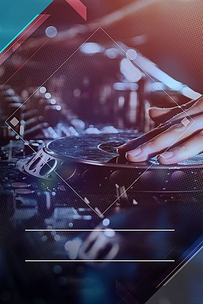 DJ poster background, Musica, Carnaval, DJ, Imagen de ...
