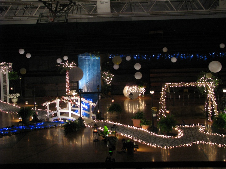 Grand March Prom Garden Of Lights