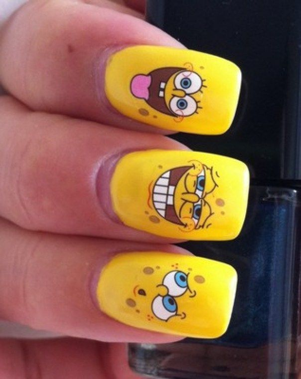 cool Funny & Cute Nail Art Designs You Will Love 2016 | Fashion Te - 200 Best Funny Nail Art Designs Images On Pinterest Cute Nails