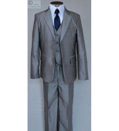costume gris claire Franck