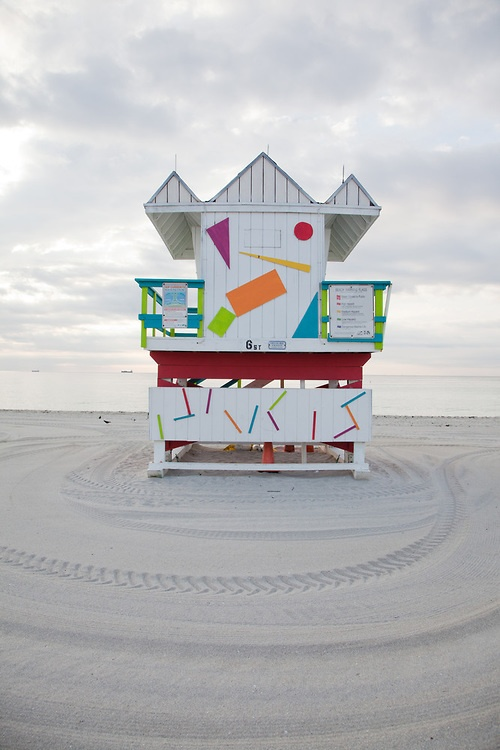 138 best South Beach - Lifeguard Stations images on Pinterest