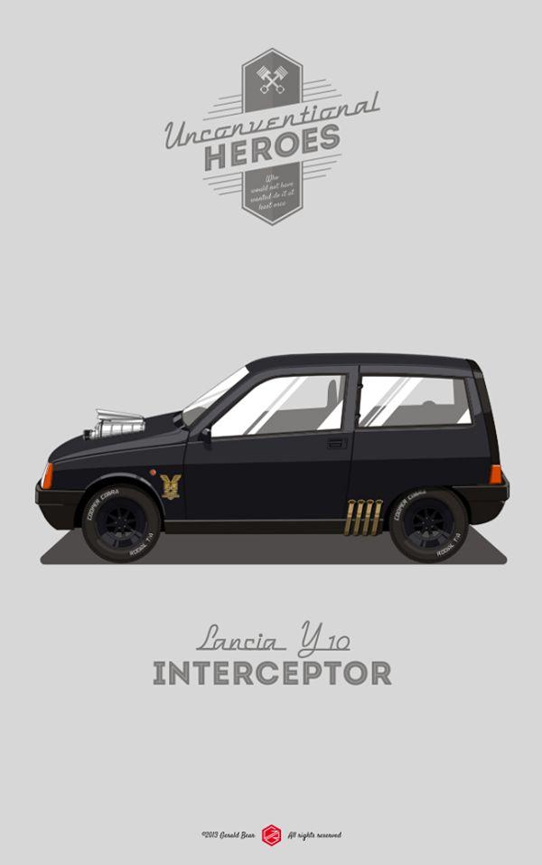 #UnconventionalHeroes by Gerald Bear, via Behance