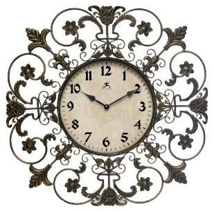I have this!! Iron Fleur de Lis Wall Clock (IN MY KITCHEN)