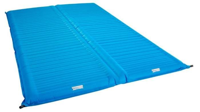 Therm A Rest Neoair Camper Duo Sleeping Pad Is An Inflatable Pad That Offers Plush Comfort For Two People With Its Independent Chambers For Camping Campe