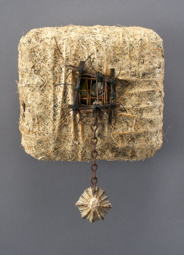 Paper, encaustic, reclaim, woven, stitched Whisper Box Series Shannon Weber Oregon