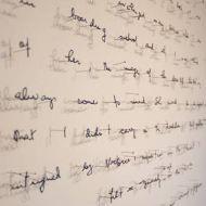 Des mots de papier aux murs, Annie Vought