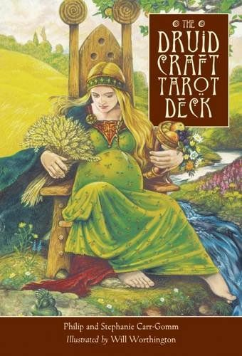 The #Druid Craft #Tarot Deck by Philip Carr-Gomm #divination #tarot #druid #wicca #numerology