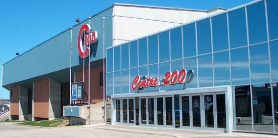 Centre 200, former home of the Cape Breton Oilers and now home to the Cape Breton Screaming Eagles of the QMJHL