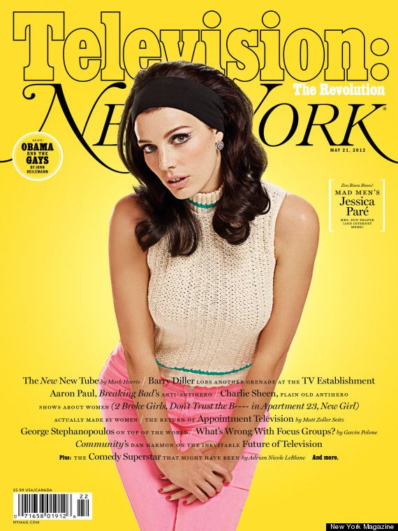 Megan from Mad Men: Style, Jessica Pare, York Magazines, Madmen, Megan Draper, Jessica Paré, Mad Men, New York, Magazines Covers