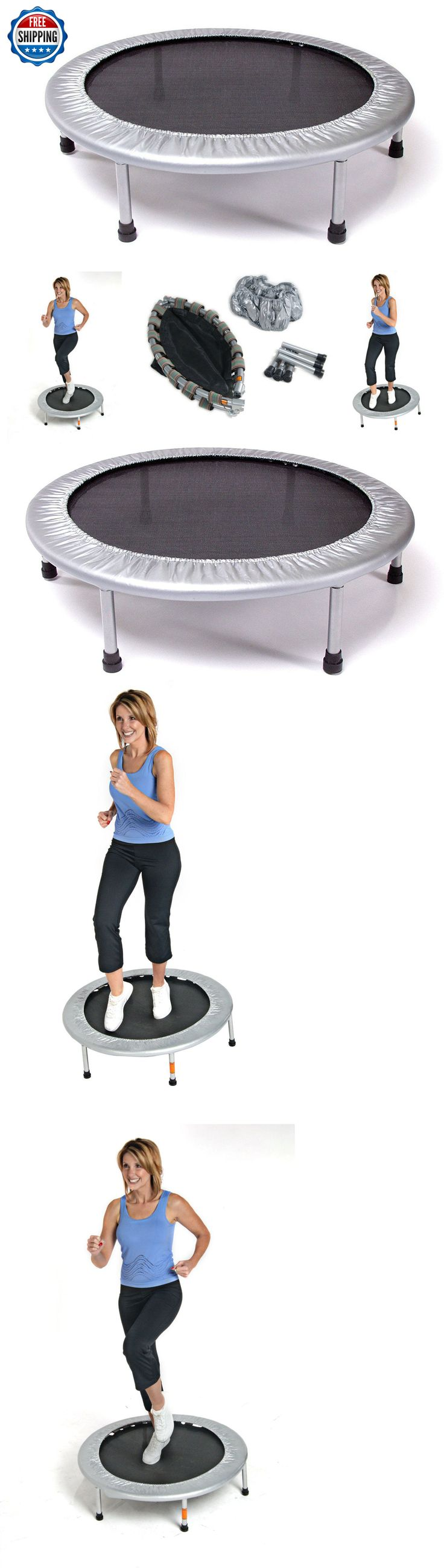 Trampolines 57275: Mini Folding Trampoline Rebounder Stamina 36 Trainer Home Fitness Gym Exercise BUY IT NOW ONLY: $35.8