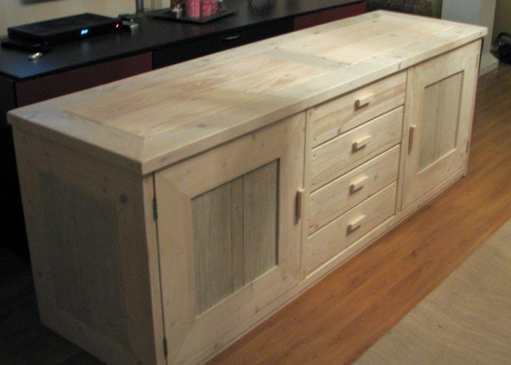 steigerhout dressoir