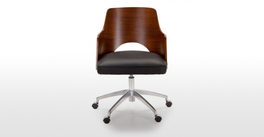 Cornell office chairs. Incredibly comfy from made.com