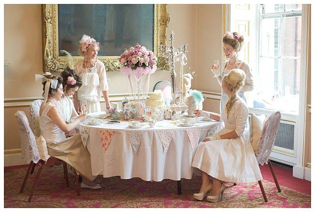 Marie Antoinette Wedding & Hen Party Inspiration Shoot