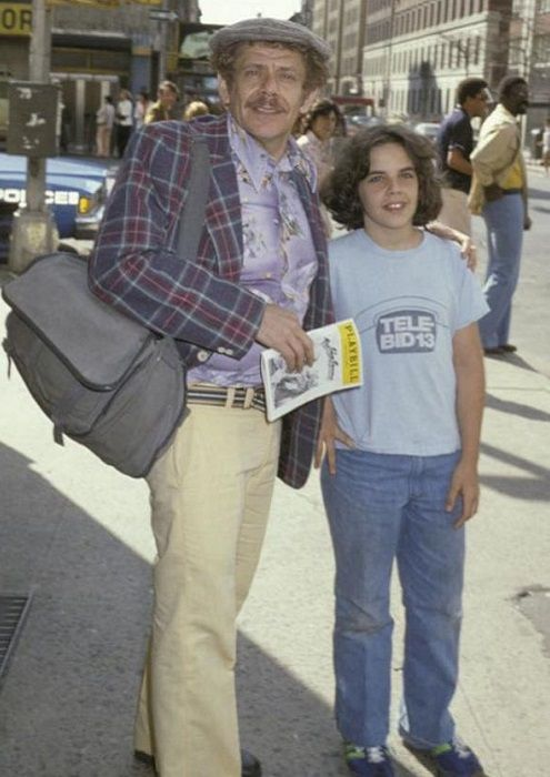 Джерри с сыном Беном, поездка в Нью-Йорк, 1978 год.