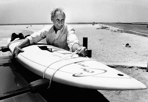 Jim Drake dies at 83; aeronautical engineer created the Windsurfer