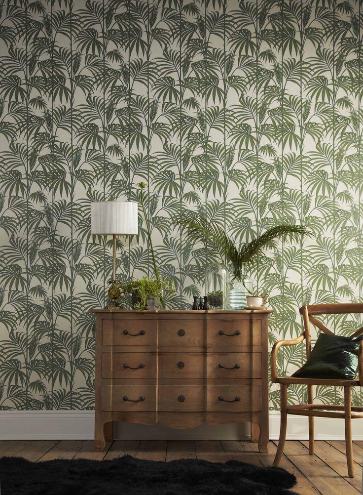 Behang Julien Mac Donald Honoluli Palm Tree van Graham & Brown