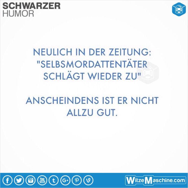 Schwarzer Humor Witze Sprüche #97 - Selbstmord Reloaded