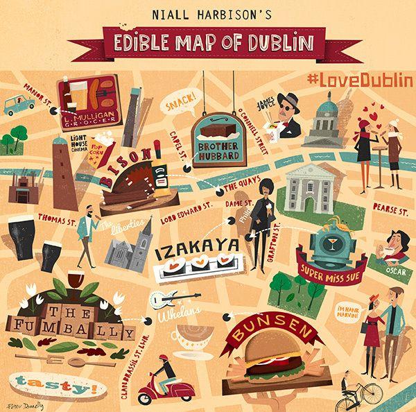 Edible Map of Dublin