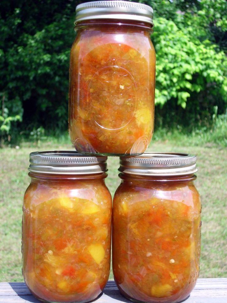 Spicy Sweet Peach Salsa