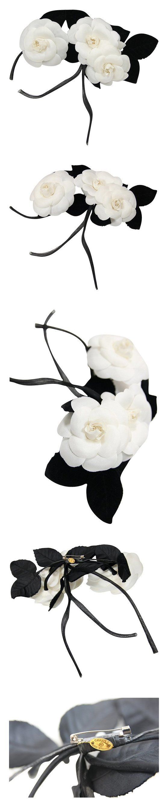 Chanel Camellia Flower Brooch #apparel #accessory #chanel #bridal_accessories #special_occasion_accessories #accessories #women #departments #shops