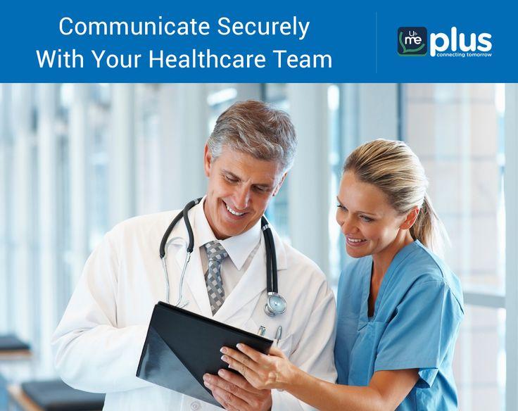 U&Me Plus helps the #healthcare teams communicate better!  Enterprise chat app for healthcare team