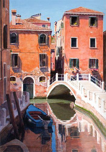 Ponte de la Turchette, Dorsoduro, Venice by Trevor Heath