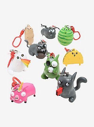 Exploding Kittens Backpack Hangers Blind Bag Clip-On Figure,