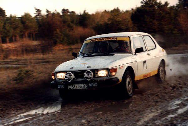 saab 99 turbo rally   Tävlingar med SAAB 99 Grupp H   Saabrally.se