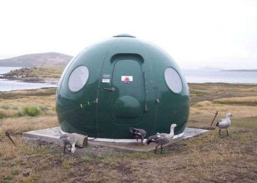 Prefab Igloos...I know it's not a trailer