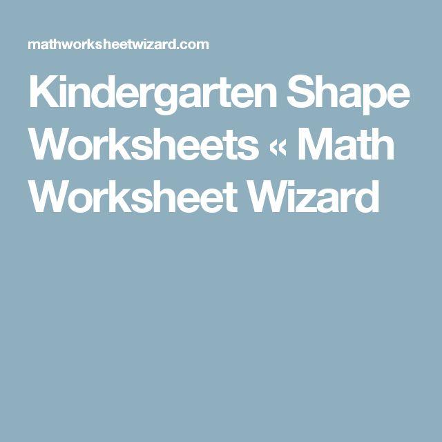 Math Worksheet Wizard Kindergarten Math Free Images Worksheets – Math Wizard Worksheet