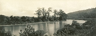 PENNSYLVANIA. On the Conemaugh near New Florence, Pennsylvania, William H. Rau, 1891-95: Picturesque Photography, Favorite Places, Victorian Era, Perfectly Picturesque