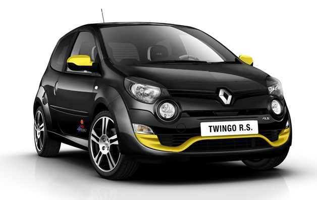 Renault fetes Red Bull Racing with special edition Twingo