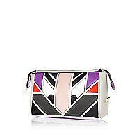 Grey monster wheelie suitcase - make up bags / luggage - bags / purses - women