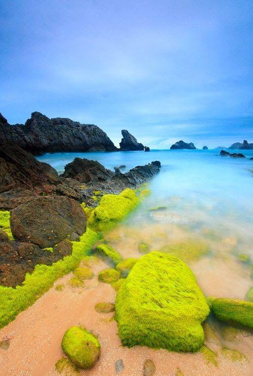Somocuevas beach - Costa Quebrada, Puerto Rico