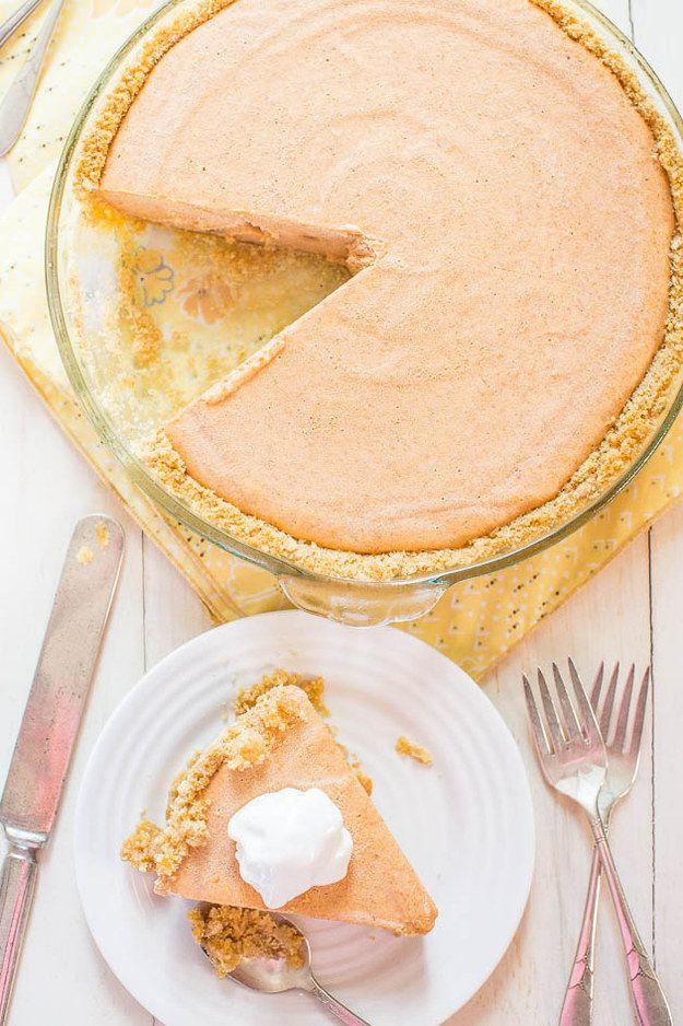 Pumpkin Ice Cream Pie   27 Truly Delicious Pumpkin Desserts
