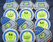 UFO/Alien cookies