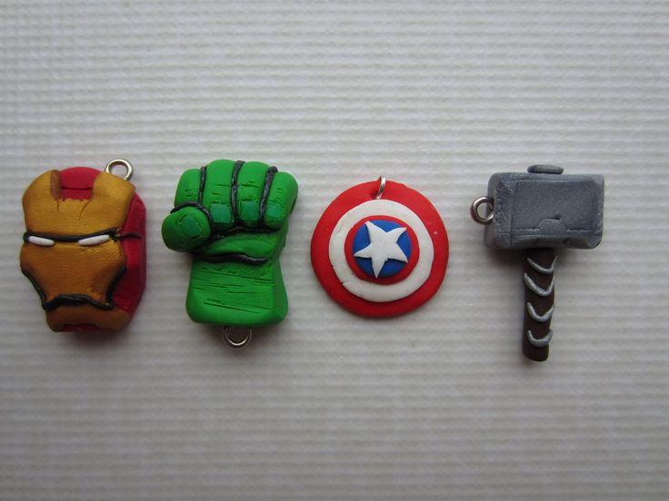 Fimo Avengers by Zoeira.deviantart.com on @deviantART