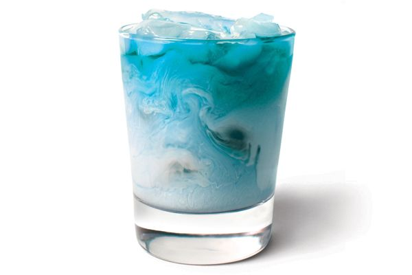 Life and Liberty***** 1 oz. UV Blue*** 1 oz. raspberry sherbet*** 1 oz. lemon-lime soda*** Combine all ingredients in a cocktail shaker filled with ice.  Shake vigorously and strain into a glass.