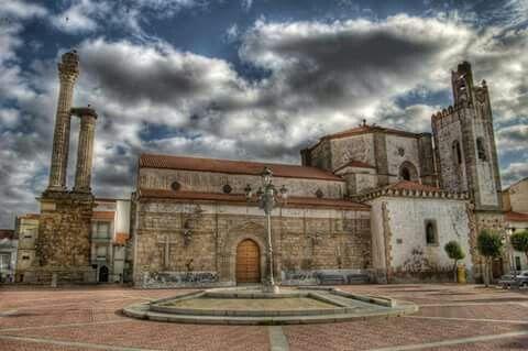Plaza de Zalamea de la Serena. Badajoz. España