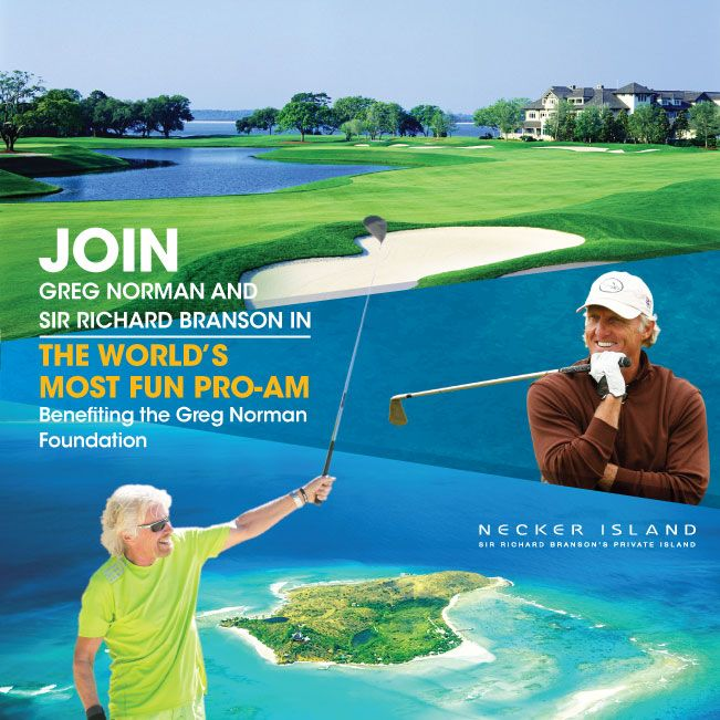 Preferred rates offered to Altima Elite Subscribers who would like to Tee off at Sea Island and putt to Necker Island.  With Greg Norman and Sir Richard Branson