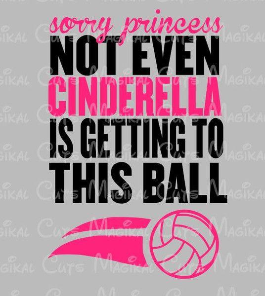 Cinderella Volleyball SVG, Studio, EPS, and JPEG Digital Downloads – Magikal Cuts