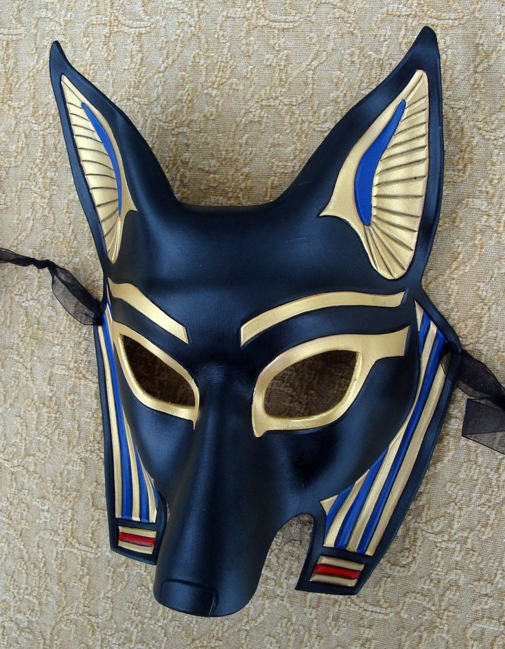 Halloween costume inspo. Anubis Mask 2010 by *merimask
